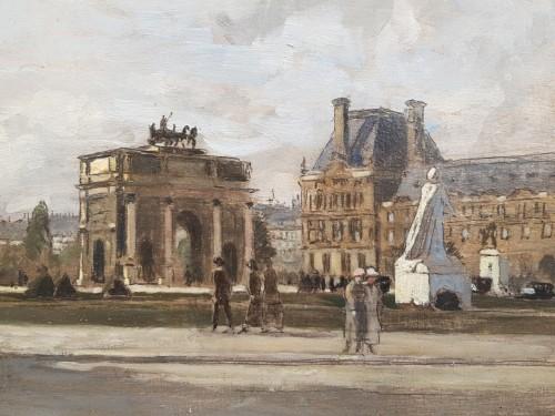 Paintings & Drawings  - The Carrousel arch - Amédée MARCEL CLEMENT (1873- ?)