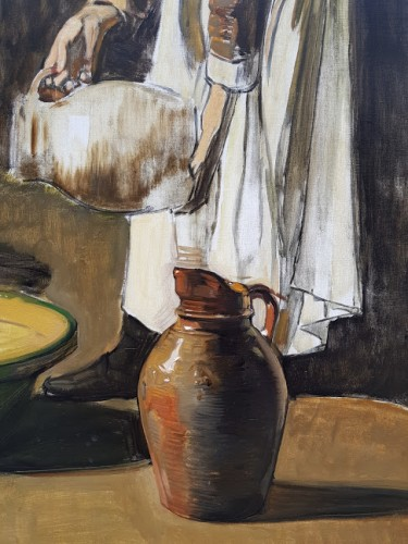 The milkmaid - Joseph Bail (1862-1921)  -