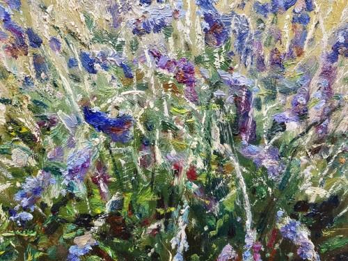 Lavender and cirtons - OswaldPOREAU(1877-1955) -
