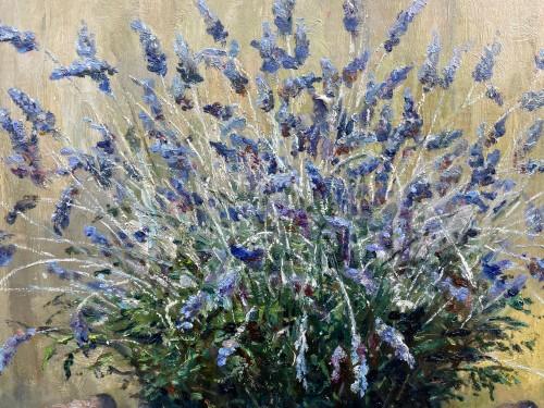 20th century - Lavender and cirtons - OswaldPOREAU(1877-1955)
