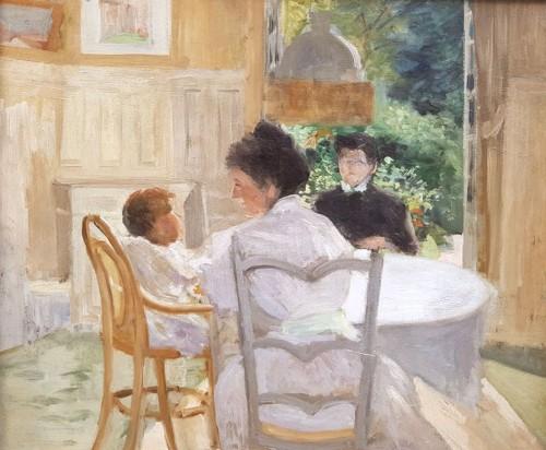 Breakfast - Hyppolyte DURAND-TAHIERr (1863-1899)