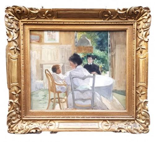 Breakfast - Hyppolyte DURAND-TAHIERr (1863-1899) - Paintings & Drawings Style