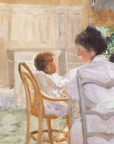 Paintings & Drawings  - Breakfast - Hyppolyte DURAND-TAHIERr (1863-1899)