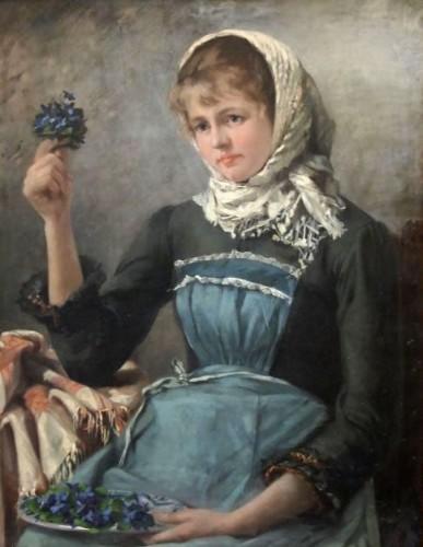 Young Violet Merchant