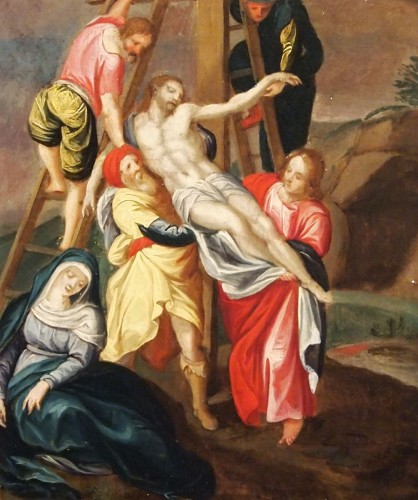 The Baptism and the Descent from the Cross of Christ  -