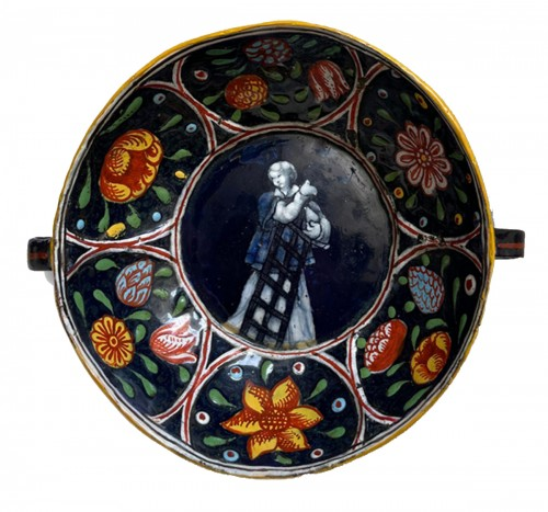 Dish, Saint Laurent, attributed to Jacques de LAUDIN II, late 17th century