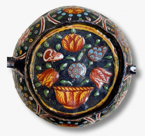 Dish, Saint Laurent, attributed to Jacques de LAUDIN II, late 17th century - Religious Antiques Style