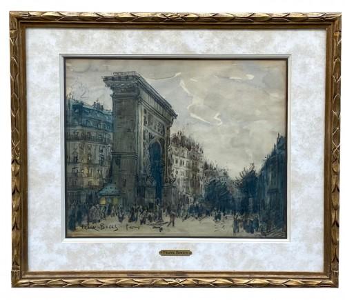 The Porte Saint-Denis, Paris - Franck Boggs (1855-1926)