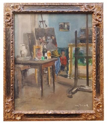 Workshop of the artist - JacquesThévenet(1891-1989)