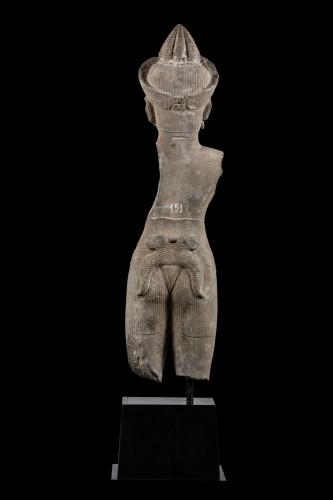 Asian Works of Art  - Vishnu Khmer 11th century
