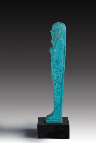 Shabti of Psammetik son of Sebarekhit - Ancient Art Style