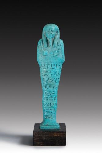Ancient Art  - Shabti of Psammetik son of Sebarekhit
