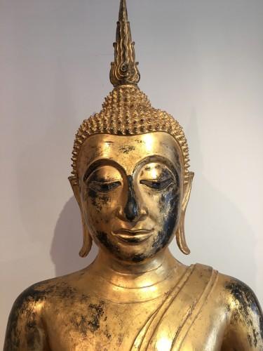 Seated Buddha - Asian Works of Art Style