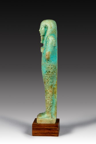 Shabti of Tja Enna Hebou  director of the royal  fleet - Ancient Art Style