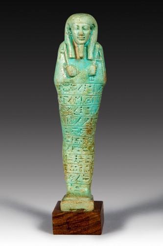 Ancient Art  - Shabti of Tja Enna Hebou  director of the royal  fleet