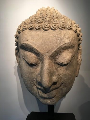 Buddha head - Ancient Art Style