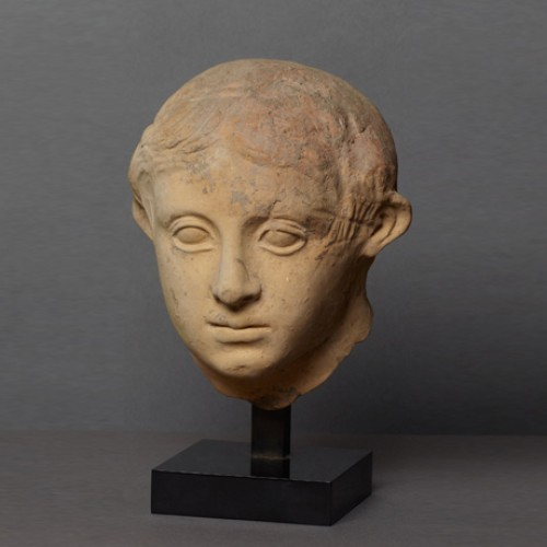 Head of a youth - Ancient Art Style