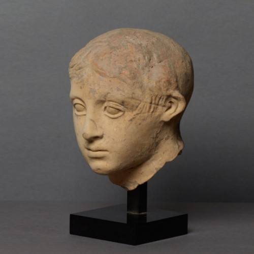 Ancient Art  - Head of a youth