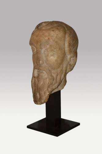 Head of a man probably a prophete