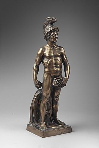 Bronze figure of Mars, 18th century