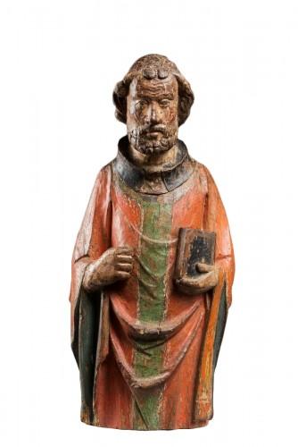 Figure of an apostle, 14th century