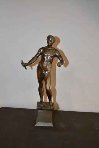 Cesar imperator naked end of XVI century - Sculpture Style Renaissance