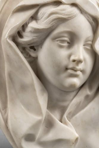 Sculpture  - Roman marble relief 17th century
