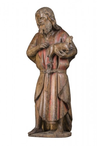 Saint John the Baptist  XV , burgondy