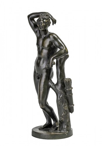 Apollino in bronze, late 18th century