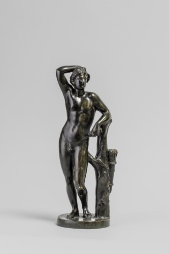 Apollino in bronze, late 18th century - Sculpture Style Louis XVI