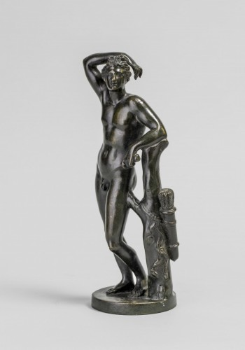 Sculpture  - Apollino in bronze, late 18th century