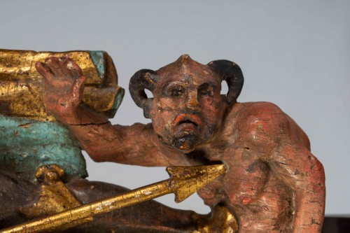 Sculpture  - Saint Michael, 16th century