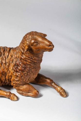 Lambs of a Neapolitan nativity scene - Curiosities Style