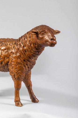 Lambs of a Neapolitan nativity scene -