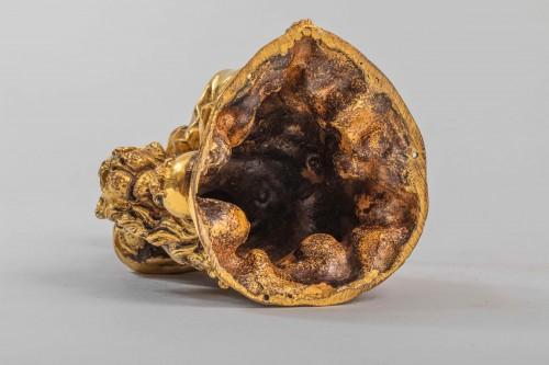 Minerve on a lion, venice 17th century -