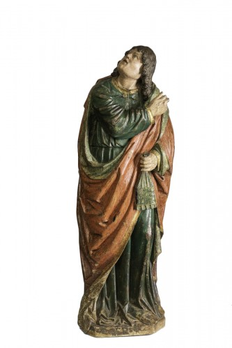 Saint john gothic Flanders circa 1500