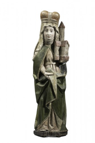 Saint Edwig, late 15th century