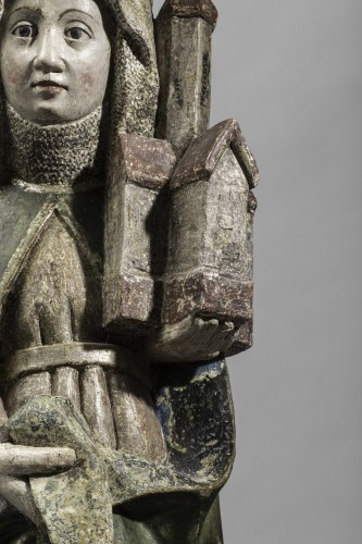 Sculpture  - Saint Edwig, late 15th century