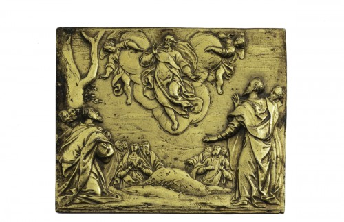 Plaque the resurrection of the christ