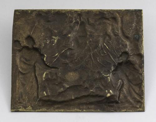Plaque the resurrection of the christ - Religious Antiques Style Renaissance