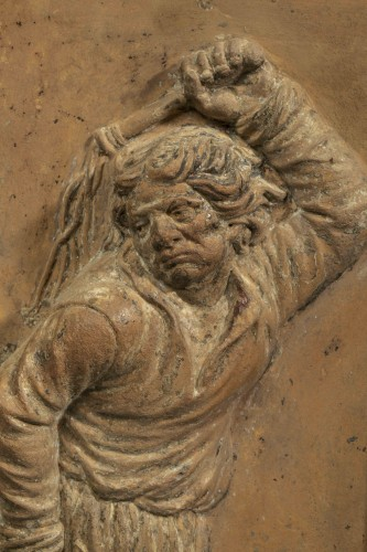 17th terracotta from flanders -