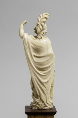figur of minerva in ivory - Sculpture Style Louis XIV