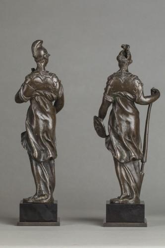 Pair of Renaissance bronzes - Sculpture Style Renaissance