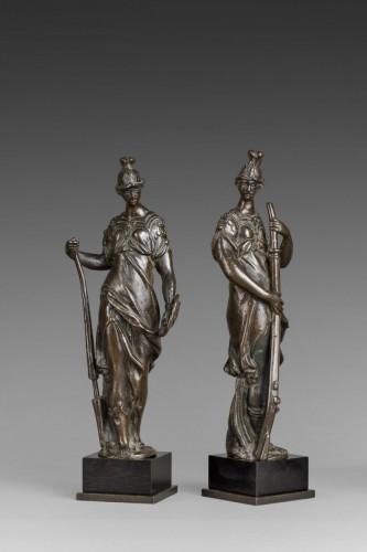 Sculpture  - Pair of Renaissance bronzes