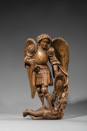 Sculpture  - Saint Michel - Loire Valley, Early Sixteenth Century