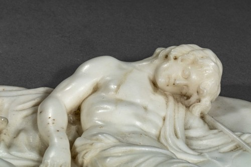 The Sleep of Endymion - England 18th century - Sculpture Style Louis XV