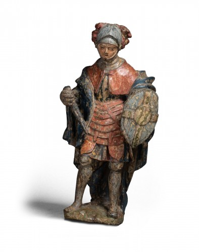 Soldier In Oak - North Of France, V. 1500