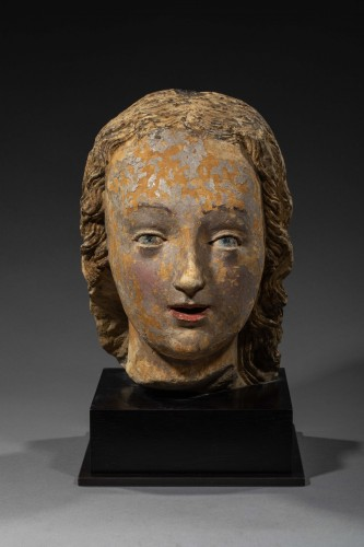 Head of Woman, Loire Valley First half of the 16th century -