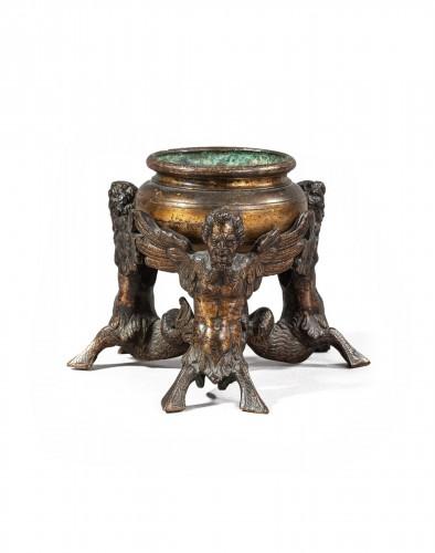 Inkwell Renaissance Bronze - Italy, 16th century