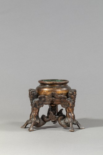 Inkwell Renaissance Bronze - Italy, 16th century - Decorative Objects Style Renaissance